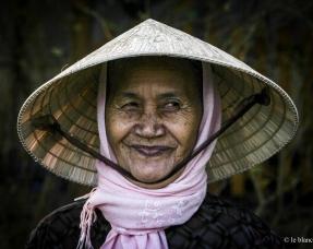portrait femme vietnamienne